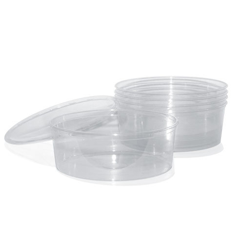 Deli cup stack 9in